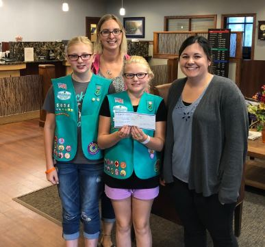 2018 recipient, girl scout's.